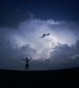 Denken, fühlen, Wetter, wie deine Gedanken das Wetter beeinflussen